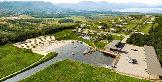 Marina del Faro é inspirado na arquitetura uruguaia e na beleza natural de seus balneários